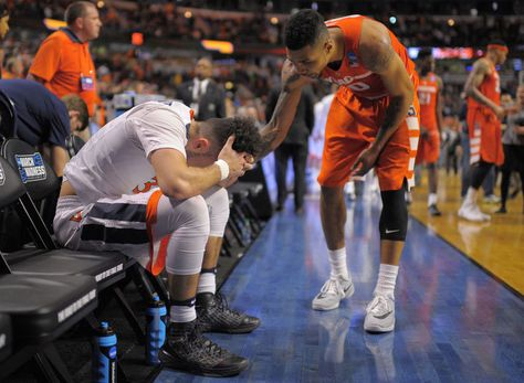 CHICAGO Virginia guard London Perrantes sat slumped next to his ... There was no…