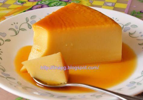 Teratak Mutiara Kasih Resepi Puding Karamel Tanpa Telur Mudah Dan Sedap Eggless Recipes Food Asian Desserts