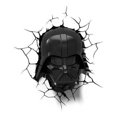 3d Light Fx 3d Ep 7 Star Wars Darth Vader Helmet Deco 4 Light Night Light Star Wars Bedroom Star Wars Room Darth Vader Helmet