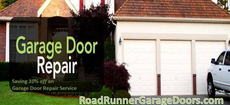 Saving 10 Off An Garage Door Repair Service At Roadrunner