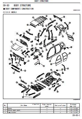 2008 Ford Escape Body Repair Manual Ford Escape Repair Manuals Ford