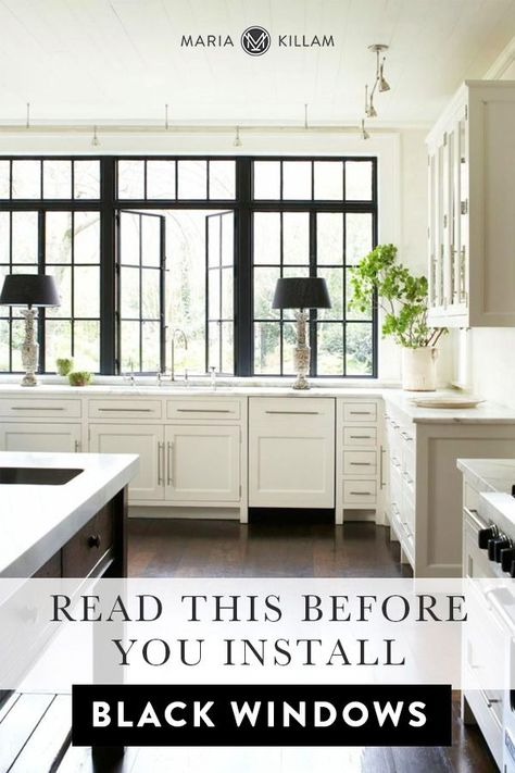 Read this before you choose black windows.