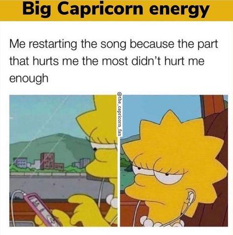 "CapriBorn on Instagram: ""Follow @capribornn for more Capricorn facts and fun @the_capricorn_fan #capricorn #capricornmemes #capricornseason #capricorns…"""