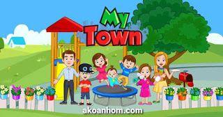 تحميل لعبة ماي تاون My Town Apk جميع الاجزاء ماي تاون المنزل المخبز Town Games My Town Character
