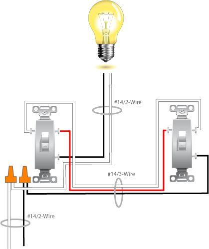 3 Way Switch Wiring Diagram Variation, Electrical 3 Way Switch Wiring Diagram