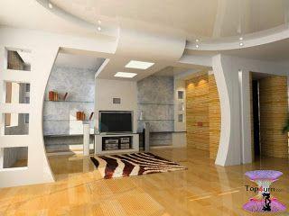 افضل ديكورات جبس اسقف راقيه 2019 Modern Gypsum Board For Walls And Ceilings Gypsum Board Decor Interior Design Living Room Designs