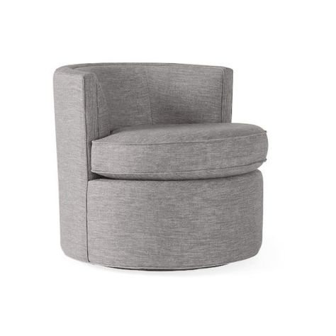 Yes Rooms Large Round Accent Chair