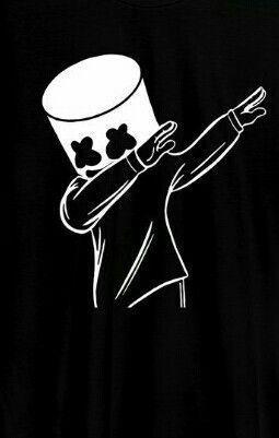 Marshmello Hd Pictures And Photos Download Free Black Background Wallpaper Graffiti Wallpaper Black Wallpaper