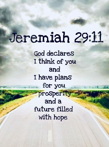 Bible verses about strength  Jeremiah 29:11   Bible Verse About