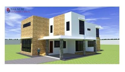 Pelan Rumah 2 Tingkat 5 1 Bilik Tidur 5 Bilik Air Banglo 5156 Kaki Persegi Design Rumah House Styles Design