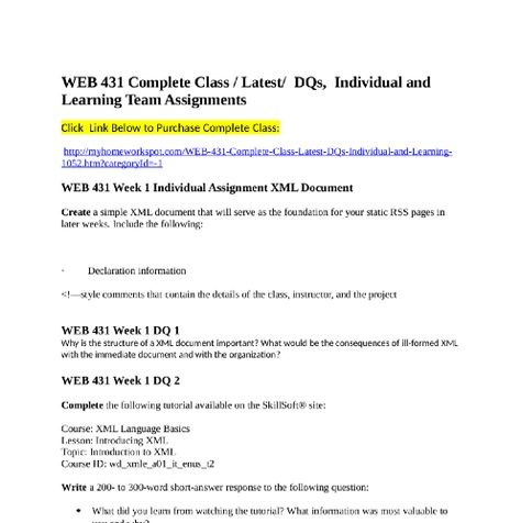 BCOM 275 Complete Class Individual and Team Assignments and DQsClick