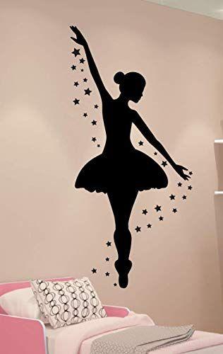 Ballerina Wall Decal Dance Wall Decor Personalized Decal Girls Room Decor Ballet Decor Ballerina Decor Ballerina Decor Ballerina Room Decor Ballet Decor
