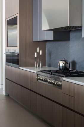 Mink Elm Wood Lead Grey Matte Mica Lacquer Platinum Grey Melamine And Pewter Grey Melamine Kitchen Cabinets And Flooring Kitchen Design Wood Kitchen Cabinets