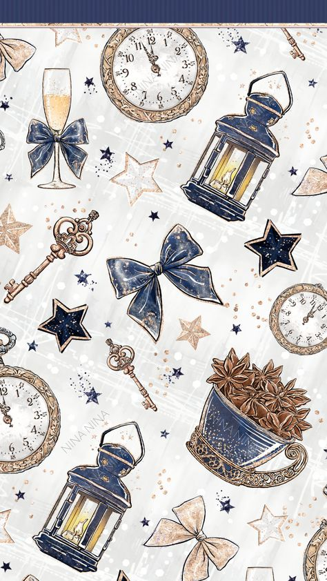 New Year's Eve Wallpaper, Happy New Year Wallpaper, Holiday Wallpaper, Star Wallpaper, Fall Wallpaper, Cellphone Wallpaper, Disney Wallpaper, Wallpaper Backgrounds, Iphone Wallpaper