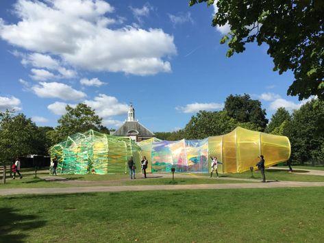 Amazing Architecture: London's 2015 Serpentine Pavillion