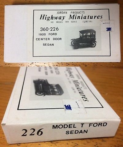 Other Ho Scale 484 Jordan Highway Miniatures Ho Scale 1 87 1920