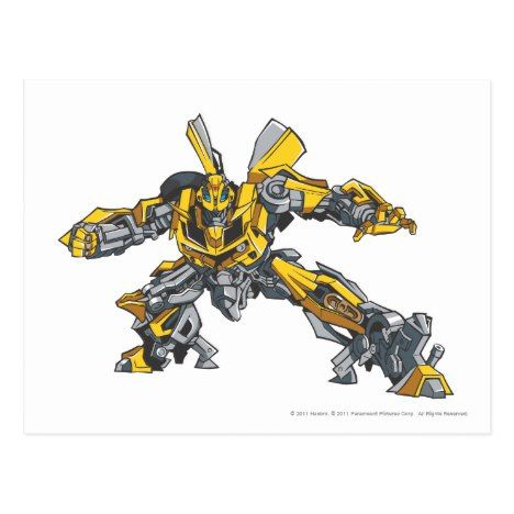 Bumblebee Standard Postcard