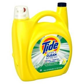 Tide Simply Clean Fresh Refreshing Breeze Liquid Laundry