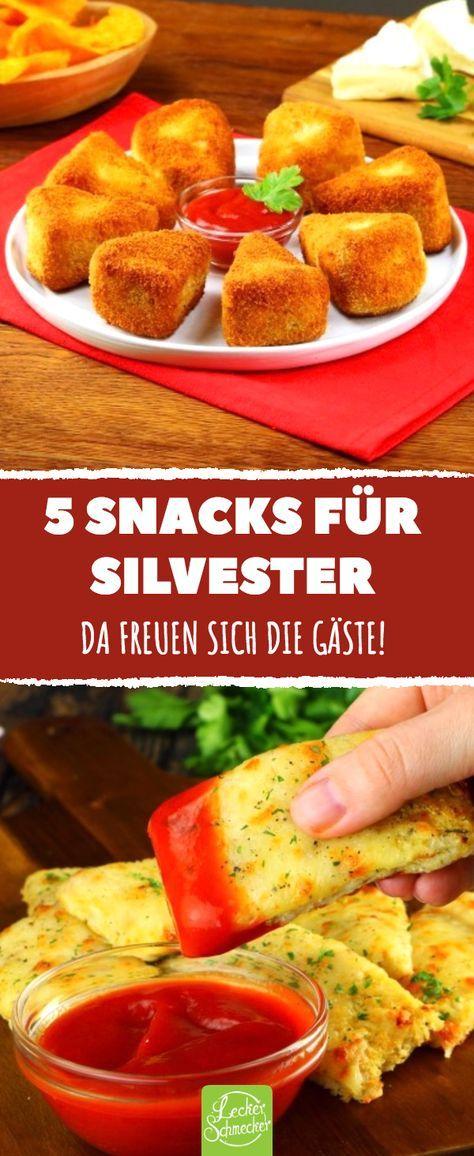 5 Snacks Fur Silvester Da Freuen Sich Die Gaste Rezepte
