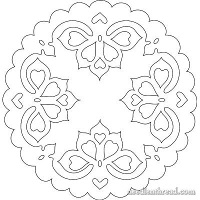 Hungarian Hand Embroidery Pattern 11 Small Hungarian Embroidery