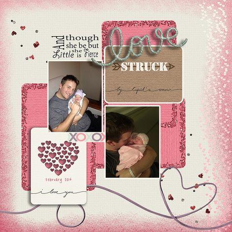 Love Struck uses Sharon Dewi-Stolp's Lovestruck kit at Pixelscrapper.com