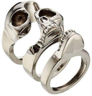 Wow Alexander McQueen Skull Ring  #commissionlink #ring #skull #gothic