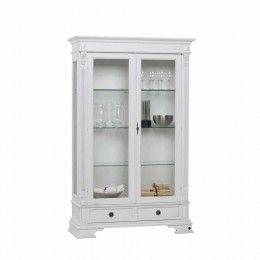 Esszimmer Vitrine Porticia In Weiss Abschliessbar Home Decor Furniture China Cabinet