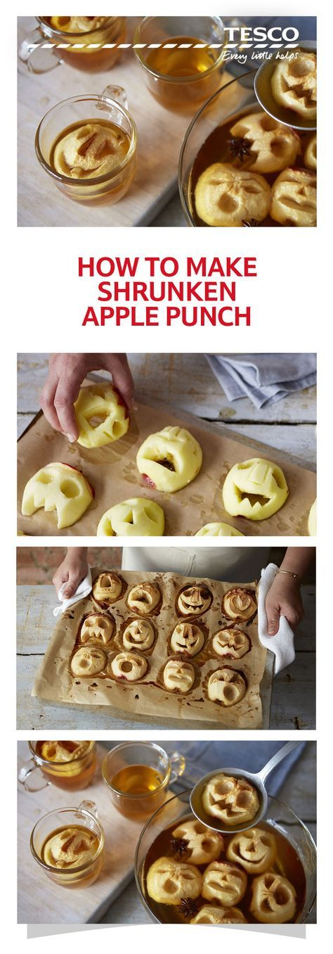 How to make shrunken apple punch