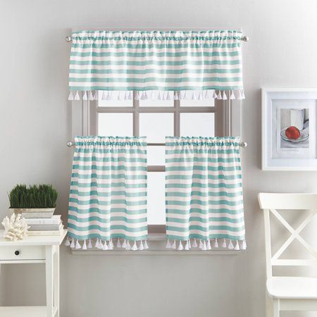 9b99ba07dd57b5f2ee0a88055325ae9e - Better Homes And Gardens Cafe Kitchen Curtain Set