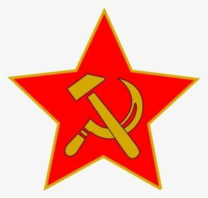 Free Hammer And Sickle In Star Communism Clipart Hd Png Download Star Logo Stars Clip Art