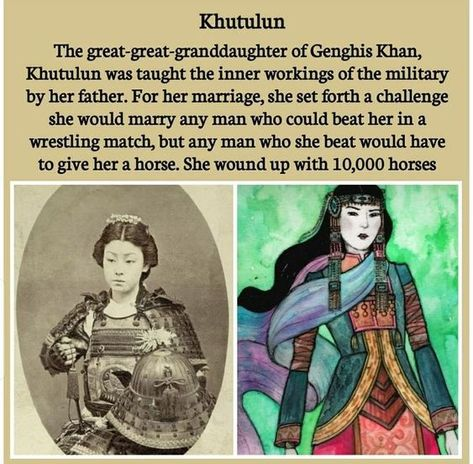 Amazing And Weird Facts - Incredible Fact About Genghis Khans Great-Great-Granddaughter