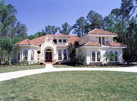 Plan 6335hd Pristine Mediterranean Home Plan In 2021 Mediterranean Style House Plans Mediterranean House Plans French Country House Plans