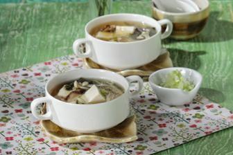 Hangatnya Kuah Miso Dengan Aneka Jamur Yang Lezat Sup Miso Jamur Resep Sup