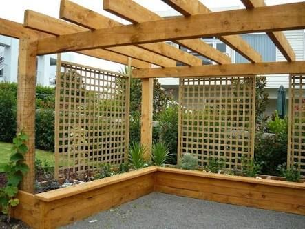 Image Result For Timber Pergola Nz