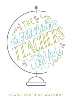 Inspired Teaching Thank You Card For Teacher Free Greetings Island In 2020 Teacher Thank You Cards Teachers Day Card Teacher Appreciation Quotes