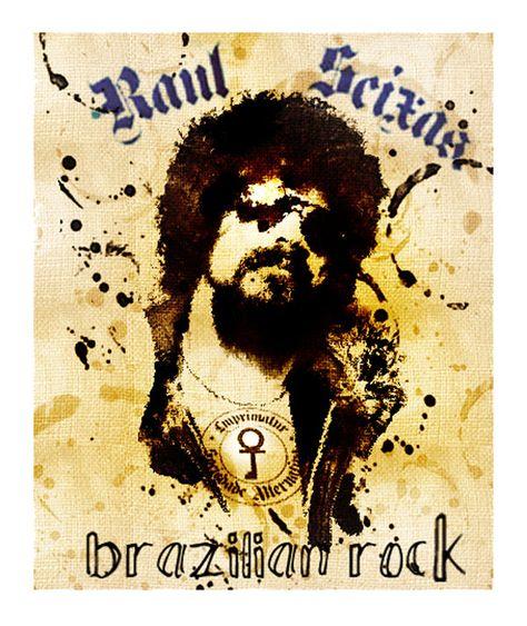 Raul Seixas Em 2019 Raul Seixas Rock Anos 80 E Cartaz