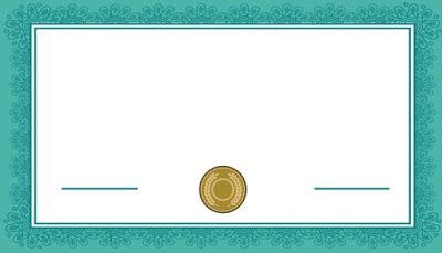 شهادة شكر فارغة للتصميم و الكتابة عليها 2021 Anime Art Girl Certificate Of Appreciation Times Tables