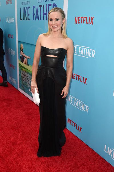 Kristen Bell attends the premiere of Netflix's 'Like Father' at ArcLight Hollywood.