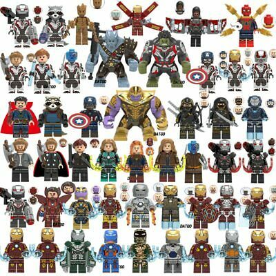 Marvel Avengers The End Game New Lego Moc Minifigure Kids Collection