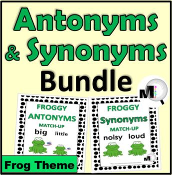 This Cost Savings Bundle Includes 2 Resources Synonyms Antonyms At A Discounted Price Save Off The Ind In 2020 Antonyms Synonym Activities Synonyms And Antonyms