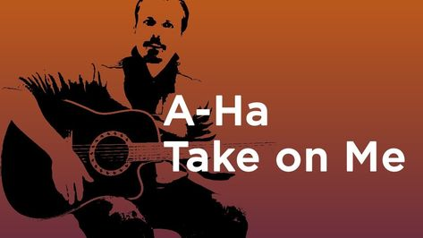 A Ha Take On Me Guitar Lesson How To Play On Guitar