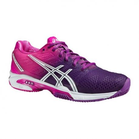 Gel Solution Speed 2 Clay Purpura Womens | Zapatos de ...