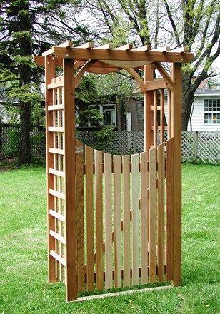 Le Modele Versaille Allie Simplicite Et Charme D Une Ouverture De 36 Avec La Porte Elle Permet Une Circulation Facile Si Vo Meuble Jardin Jardins Portes