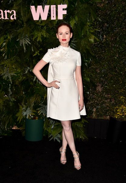 Madelaine Petsch attends Max Mara: WIF Face Of The Future at Chateau Marmont.