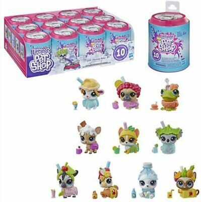 New 2019 Series 4 THIRSTY PETS Littlest Pet Shop Bear and outfit Classic size