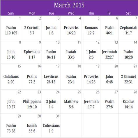 March 2015 Prayer Calendar ~ Walking with God   For free monthly devotional & downloadable version of calendar email calendar@iprayallday.com