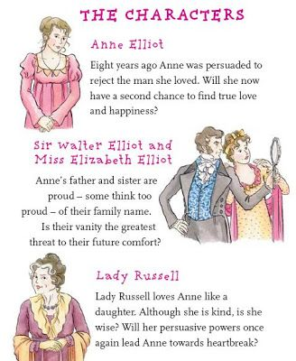 characters in persuasion by jane austen character information  characters in persuasion by jane austen character information jane austen jane austen books and books