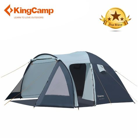 KingCamp Camping Tent 3f ul gear beach tent 1 2 5person