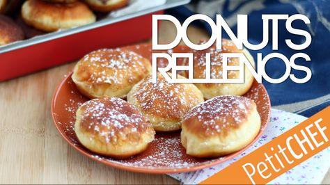 Donuts rellenos de nutella, berlinas | Petitchef