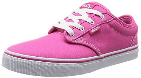 Vans Kids Atwood (Canvas) Magenta White Skate Shoe 11 Kids US   Be sure to  check out this awesome product. 36a14c80e
